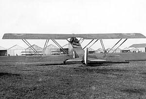 Macchi M.15 - Image: Macchi M.15 rear view