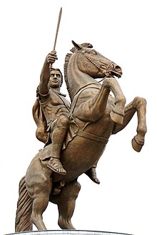 Macedonia-02786 - Warrior on a Horse (10904983734).jpg