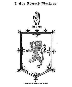 Mackay of Aberach - The Mackay of Aberach coat of arms