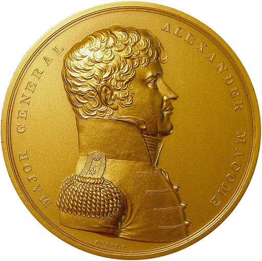 Macomb Congressional Medal Obverse