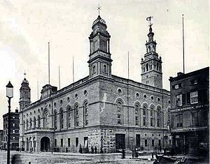 Madison Square Garden (built 1890), near Madis...