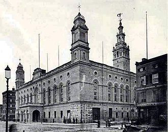 Madison Square Garden (1890) - Another view of the exterior