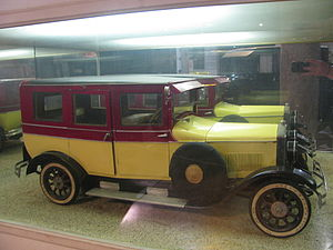 Hungarian General Machine Factory - Magosix sport-touring car model, 1927
