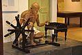 Mahatma Gandhi Fibreglass Statue With Charka - Gandhi Memorial Museum - Barrackpore - Kolkata 2017-03-31 1233.JPG