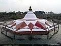 Mahatma Gandhi Memorial, Paunar Ashram - panoramio.jpg