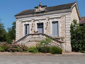 Aujols - The town hall in Aujols