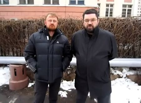 Maj. Alexey Dymovsky and Yuri Yekishev address of March 4, 2012.jpg