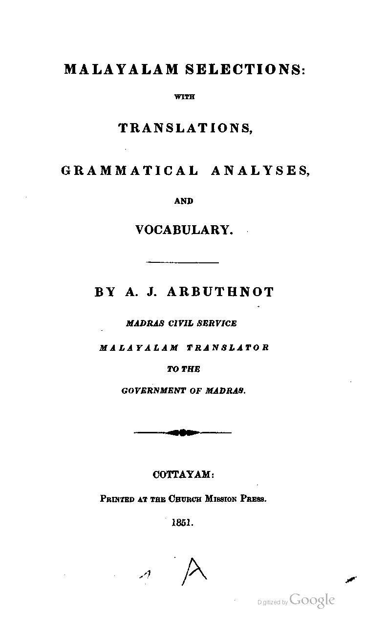 താൾ:Malayalam selections with translations, grammatical analyses