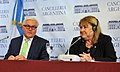 Malcorra & Steinmeier rueda de prensa.jpg