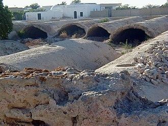 Cisterns of La Malga - View of the cisterns of La Malga
