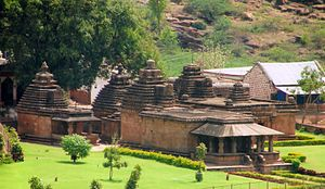 Kadamba architecture - Mallikarjuna group of temples at Badami