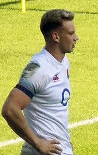 Harry Mallinder British rugby union player