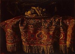 Francesco Maltese: Still Life with an Oriental Carpet