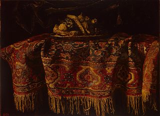 Still Life with an Oriental Carpet