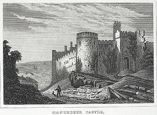 Manerbeer Castle, Pembrokeshire