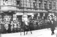 Mannerheim In Victory Parade 1918