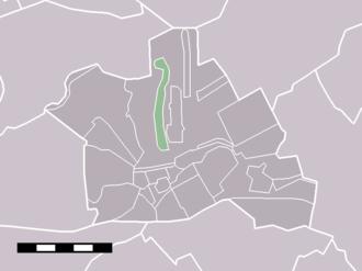 Kamerik-Mijzijde - Image: Map NL Woerden Kamerik Mijzijde
