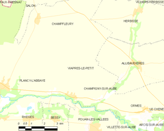 Map commune FR insee code 10408.png