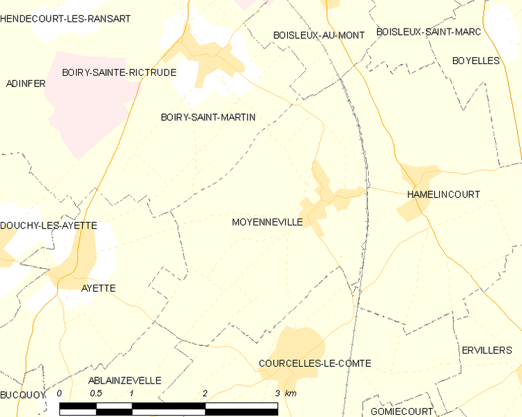 Súbor:Map commune FR insee code 62597.png