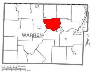 Conewango Township, Warren County, Pennsylvania Township in Pennsylvania, United States