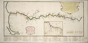 Demerara - The Demerara colony in 1759 (Note this map has East at its top.) See here for its exact location (6° 48' N 58° 10' W).