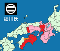 Map of Hosokawa clan 1506.png