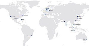 Martin Bencher - Map of Martin Bencher offices worldwide