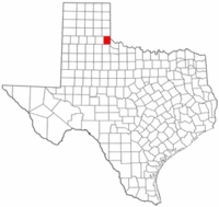 Map of Texas highlighting Childress County.png