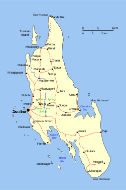 Map of Zanzibar.svg