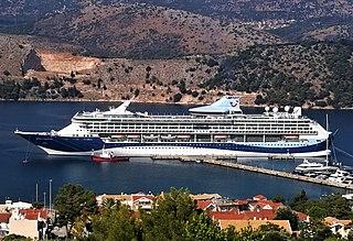 <i>Marella Discovery</i> Vision-class cruise ship