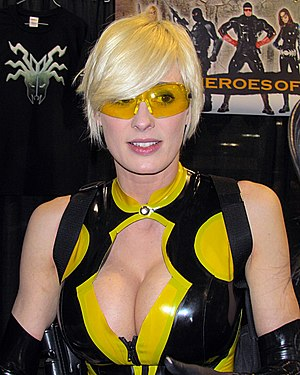 Marie-Claude Bourbonnais - Marie-Claude Bourbonnais at the 2012 Calgary Comic and Entertainment Expo
