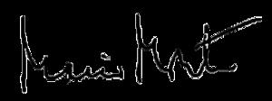 Die Unterschrift von Mario Monti
