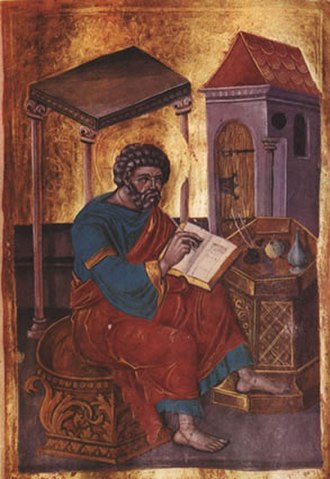 Gospel of Mark - Mark the Evangelist, 16th-century Russian icon