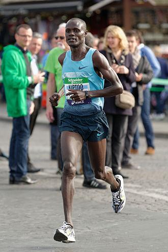 Mark Kiptoo - Image: Mark Kiptoo 2014 Paris Marathon t 101525