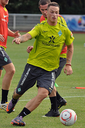 Marko Arnautović - Arnautović training with Werder Bremen in 2010