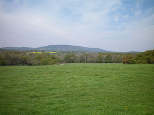 Western Weald - View across the western Weald to Blackdown (centre) and Marley Heights (left).