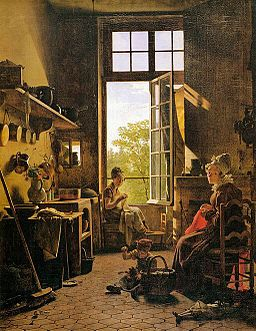 Martin Drolling - Interior of a Kitchen (detail) - WGA6679