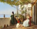 Martinus Rørbye - Loggia fra Procida med figurer - 1841.png