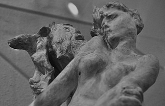 Maryhill Museum of Art - Detail of Rodin's Minotaur, one of many Rodin sculptures at Maryhill.
