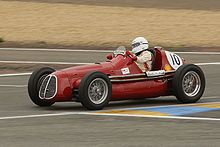 Photo d'une Maserati A6GCM.
