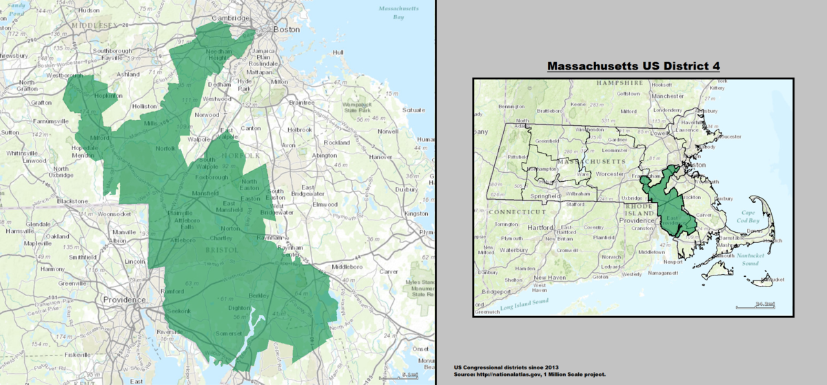 Massachusetts\'s 4th congressional district - Wikipedia