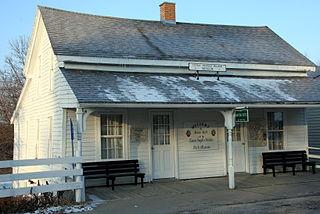 Burr Oak, Iowa CDP in Iowa, United States