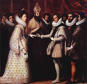 Eleanor de' Medici - Marriage of Eleanor de' Medici and Duke Vincenzo I Gonzaga