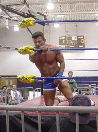 Matt Striker - Striker in the ring in 2005