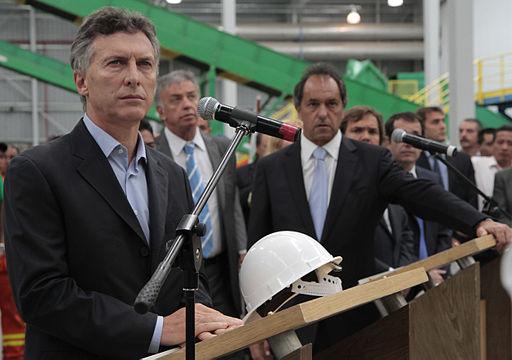 Mauricio Macri y Daniel Scioli inaguraron la planta de tratamiento de residuos en el Ceamse Norte III (8343281440)