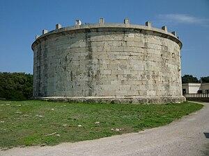 Lucius Munatius Plancus - Mausoleum of Plancus in Gaeta