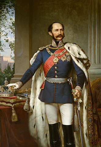 Maximilian II of Bavaria - Maximilian II by Joseph Bernhardt.