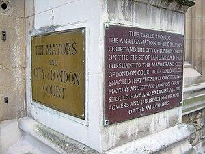 Mayor's and City of London Court - Image: Mayors and City of London Court 2