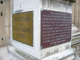 Mayor's and City of London Court - Image: Mayors and City of London Court 2