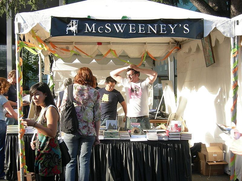 File:McSweeny's at Bumbershoot 2007.jpg